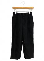 ()の古着「ポケット切替パンツ AD2019」 ブラック
