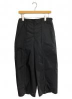 ISSEY MIYAKE(イッセイミヤケ)の古着「21SS 2WAYデザインパンツ」 ブラック