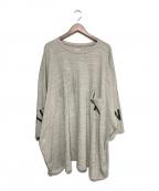 KAPITAL(キャピタル)の古着「オーバーサイズTシャツ」|グレー