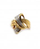 K18 Diamonds Ring(18金 ダイヤモンド リング)の古着「デザインリング」