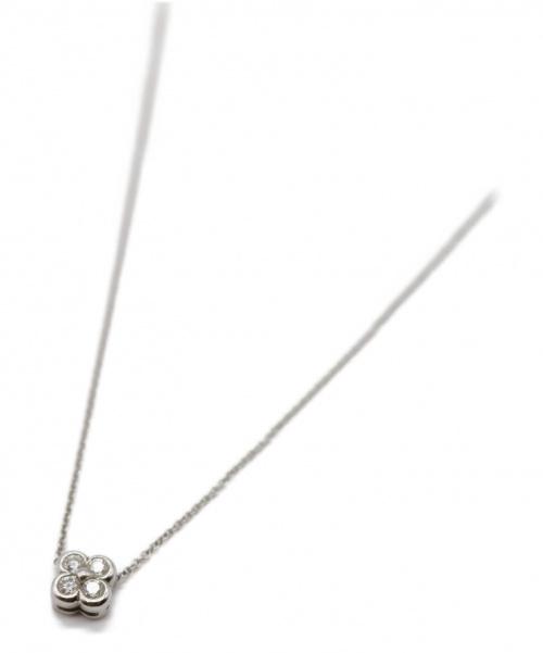 Tiffany & Co.(ティファニー)Tiffany & Co. (ティファニー) 4ベゼル ネックレス サイズ:-の古着・服飾アイテム