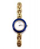 GUCCI(グッチ)の古着「腕時計/クォーツ/チェンジベゼル6」|ホワイト