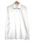 sss world corp(トリプルエス ワールドコープ)の古着「バックイーグルプリントシャツ」|ホワイト