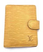 LOUIS VUITTON(ルイヴィトン)の古着「カードケース/アジェンダ・ミニ」|イエロー