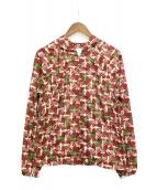 COMME des GARCONS SHIRT(コムデギャルソンシャツ)の古着「ジップアップジャケット」|バーガンディー
