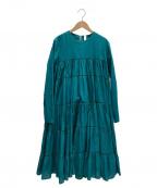 merlette(マーレット)の古着「ワンピース」 グリーン