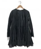 merlette(マーレット)の古着「ティアードワンピース」 ブラック