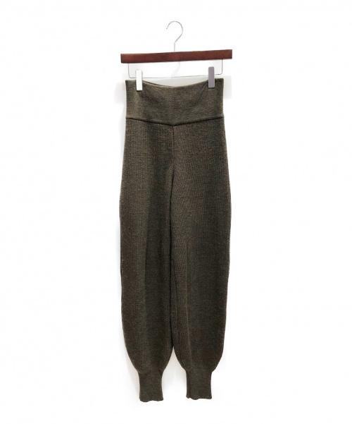 FUMIKA UCHIDA(フミカ ウチダ)FUMIKA UCHIDA (フミカ ウチダ) ニットパンツ オリーブ サイズ:-の古着・服飾アイテム