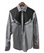 ETRO(エトロ)の古着「ウエスタンシャツ」|グレー