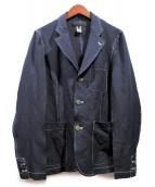 COMME des GARCONS SHIRT(コムデギャルソンシャツ)の古着「製品染めジャケット」|ネイビー