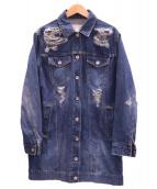 CINOH(チノ)の古着「デニムコート」|インディゴ
