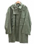 AURALEE×Ron Herman(オーラリー×ロンハーマン)の古着「モッズコート」|カーキ