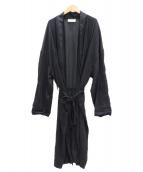 CAN PEP REY(キャン ペプレイ)の古着「loose cardigan emma」 ブラック