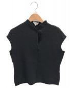 MaxMara(マックスマーラ)の古着「ノースリーブニット」|ブラック