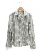 Frank&Eileen(フランクアンドアイリーン)の古着「リネンシャツ」|ホワイト×グレー