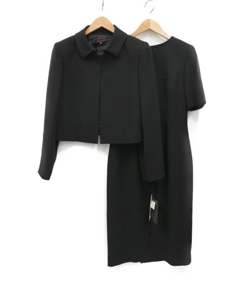 YUKI TORII(ユキ トリイ)YUKI TORII (ユキトリイ) セットアップ ブラック サイズ:5AR 未使用品の古着・服飾アイテム