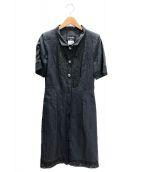 CHANEL(シャネル)の古着「シャツワンピース」|ブラック
