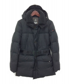 PEUTEREY(ピューテリー)の古着「フーデッドダウンコート」|ブラック