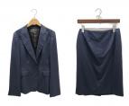 LANVIN COLLECTION(ランバンコレクション)の古着「セットアップスーツ」|ネイビー