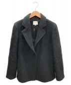 ARMANI COLLEZIONI(アルマーニコレツォーニ)の古着「ウールジャケット」|ブラック