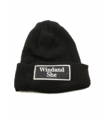 WIND AND SEA(ウィンダンシー)の古着「FR2 BEANIE 2」|ブラック