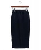 LAppartement(アパルトモン)の古着「スウェットスカート」 ネイビー