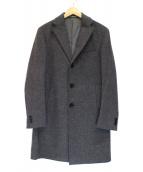 EDIFICE(エディフィス)の古着「ウールカシミヤコート」|グレー