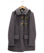 MIU MIU()の古着「ウールコート」|グレー×レッド