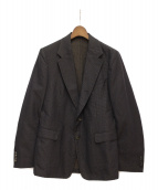 DRIES VAN NOTEN(ドリス ヴァンノッテン)の古着「デザインジャケット」|ブラウン