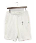 OFFWHITE(オフホワイト)の古着「ハーフパンツ」|ホワイト