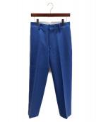 LOEFF(ロエフ)の古着「タックパンツ」|ブルー