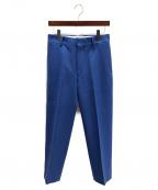 LOEFF(ロエフ)の古着「タックパンツ」 ブルー