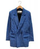 CABANA(カバナ)の古着「ダブルジャケット」|ブルー