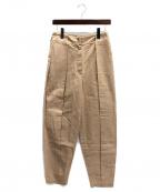 NEHERA(ネヘラ)の古着「リネン混パンツ」|ベージュ
