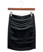 CHANEL(シャネル)の古着「デザインスカート」|ブラック