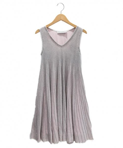 Christian Dior(クリスチャン ディオール)Christian Dior (クリスチャンディオール) ノースリーブワンピース ライトピンク サイズ:34の古着・服飾アイテム