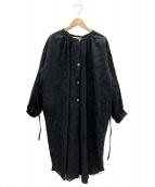 sara mallika(サラマリカ)の古着「ブラウスワンピース」|ブラック
