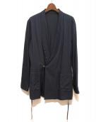 FIT MIHARA YASUHIRO(フィット ミハラヤスヒロ)の古着「ショールカラージャケット」|ネイビー