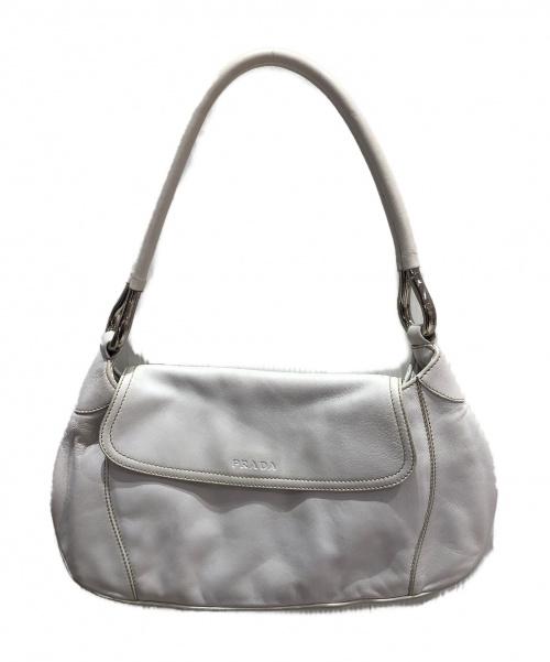 PRADA(プラダ)PRADA (プラダ) ワンショルダーバッグ ホワイト サイズ:- BR1764 50の古着・服飾アイテム