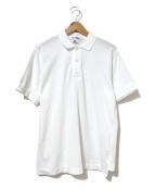 JUNYA WATANABE COMME des GARCON MAN(ジュンヤワタナベ コムデギャルソンマン)の古着「バックデザインポロシャツ」|ホワイト