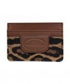 DOLCE & GABBANA()の古着「パスケース/カードケース」|ブラウン