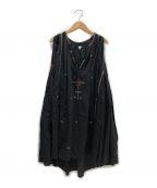 ISABEL MARANT ETOILE(イザベルマランエトワール)の古着「刺繍ワンピース」|ブラック