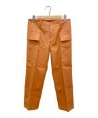 SOFIE D'HOORE(ソフィー ドール)の古着「カーゴパンツ」|オレンジ