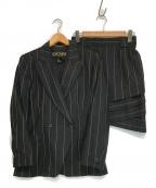 ESCADA(エスカーダ)の古着「セットアップスーツ」 ブラック