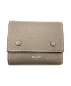CELINE()の古着「3つ折り財布」|スリ×イエロー