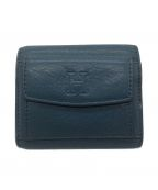 HIROFU(ヒロフ)の古着「3つ折り財布」|ダークブルー