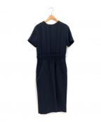 YOKO CHAN()の古着「Layeredドレス」|ネイビー