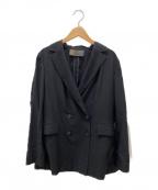 UNITED ARROWS()の古着「テーラードジャケット UWSC R/N4B」|ブラック