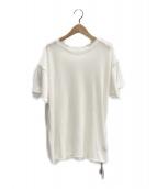 ()の古着「半袖ニット」 ホワイト