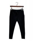 ()の古着「スタンダードスリムジャージーパンツ」 ブラック